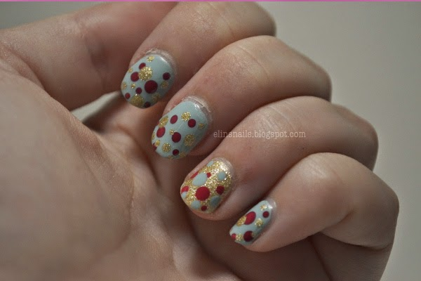 Dot Nails by Elins Nails