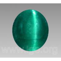 Jade Botón birmano jadeíta sin tratar un grado Oval dos botones de piedra agujero 14×10