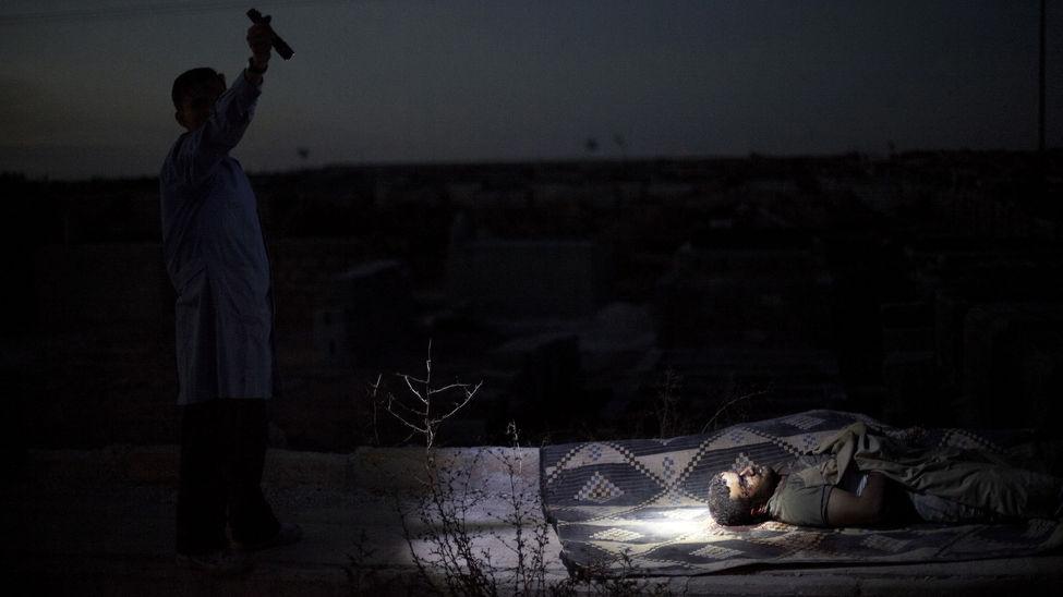 El fotógrafo Manu Brabo gana el Premio Pulitzer - conferencia