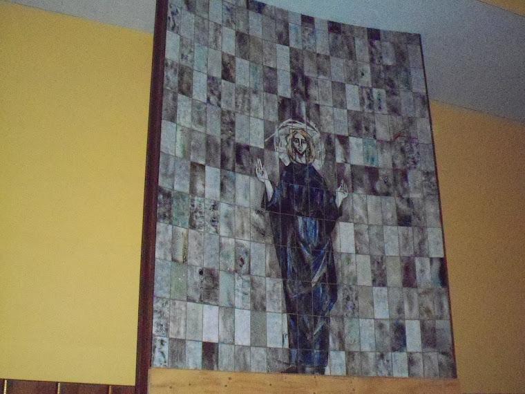 2- Murale derrière l'autel