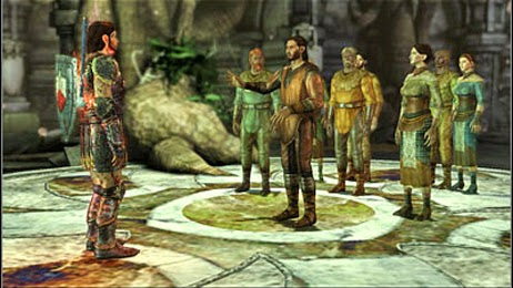 MMORPG Group Quests