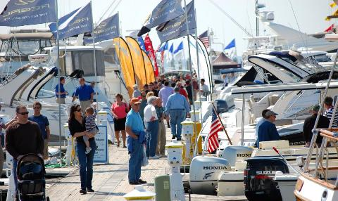 Labor Day weekend boat shows