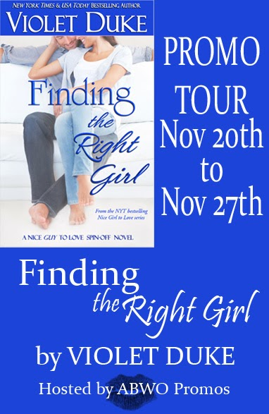 Finding the Right Girl Blog Tour