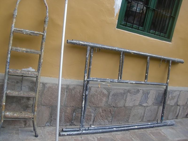 Aprende con tu amigo luis como pintar techos muy altos - Aprender a pintar paredes ...