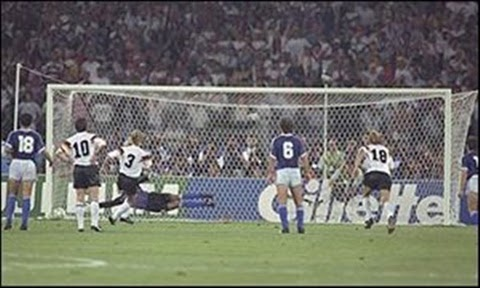 Gol do título alemão copa do mundo 1990
