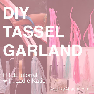 DIY, DIY Tassel, DIY garland, DIY, Free Tutorial, Free Tassel Tutorial, DIY tutorial, Free DIY tutorial, do it yourself, DIY Decor