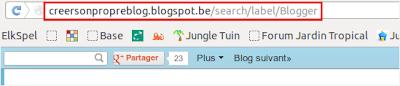 Adresse URL page libellé