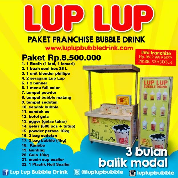 franchise waralaba minuman bubble drink
