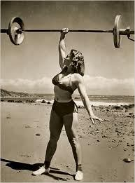 "Abbye ""Pudgy"" Stockton, a pioneer of female bodybuilding and weight lifting in the 1940s and 1950s"