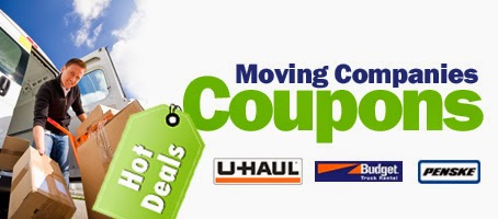 Moving truck rental coupons