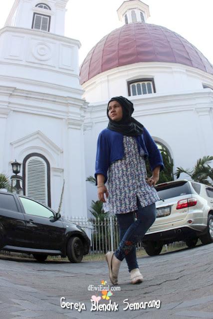gereja di Semarang, depan resto warung 29 semarang