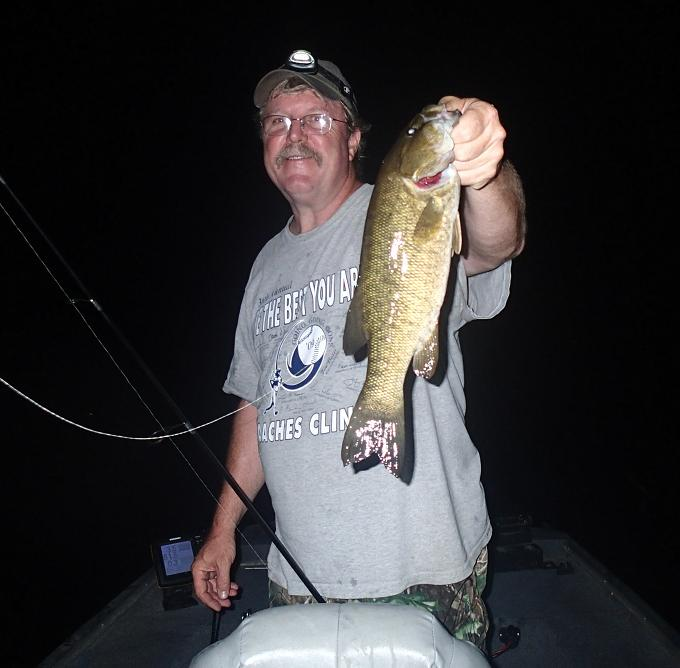 Fat boy 39 s outdoors finesse fishing for bass at night what for Night bass fishing