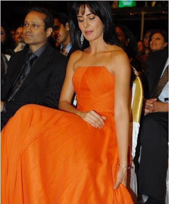 katrina kaif at filmfare awards 2012