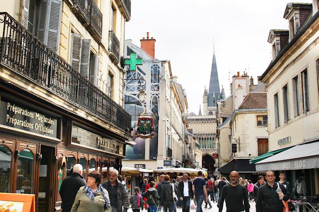 Rues Musette à Dijon