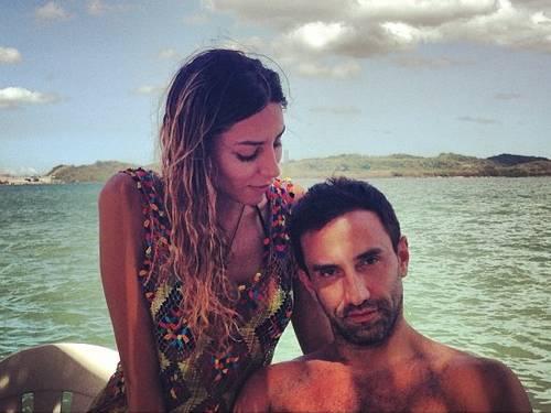 Lea e Riccardo: juntos na Bahia (Foto: Reprodução/Instagram)