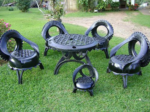 Садовой мебели своими руками