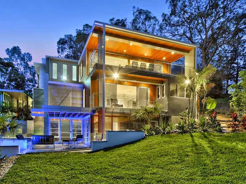 casa de lujo en el r o brisbane queensland australia arquitectura contemporanea
