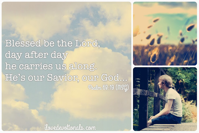 We are carried by God Psalm 68:19