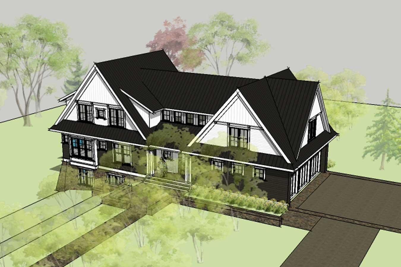 Simply Elegant Home Designs Blog: New House Plan - The Willowbrook