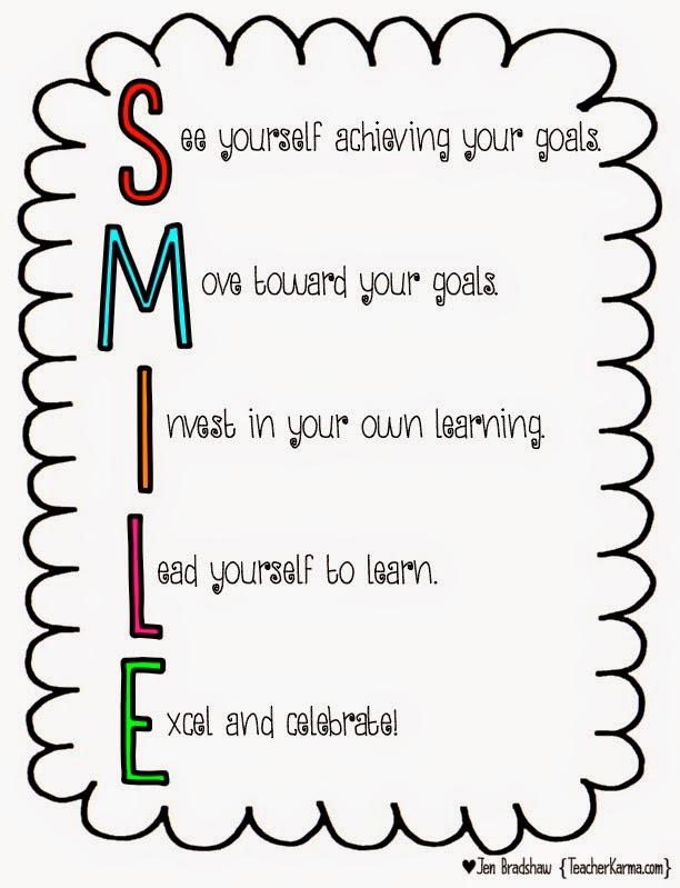 Teach your students to set their own goals.  teacherkarma.com