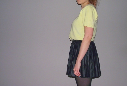 leather-pleated-skirt