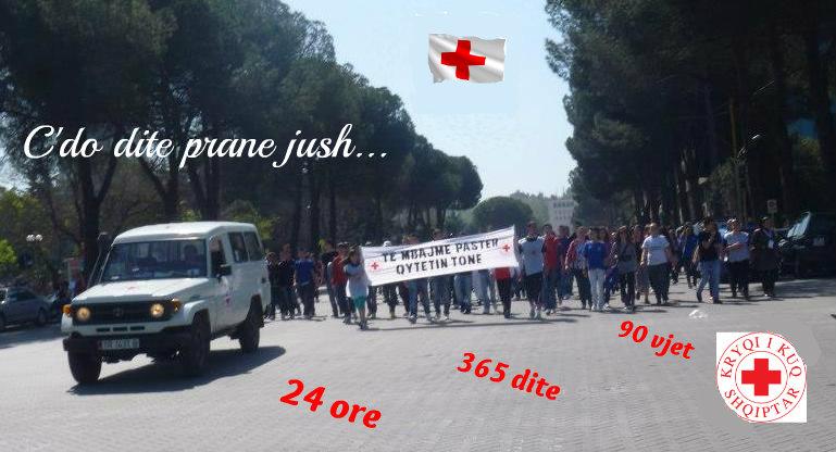 Veprimtaria e Kryqit të Kuq në Shqipëri