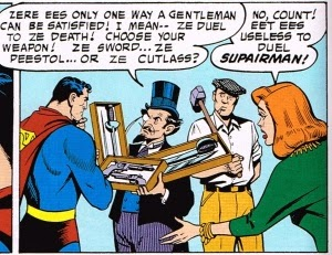 Superman Duels Frenchy Sans Construction Guy