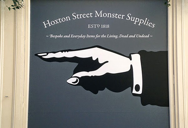 Hoxton Street Monster Supplies at the Pop Up Snot Shop