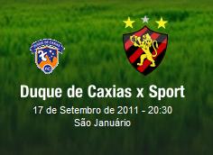 Assistir Duque de Caxias x Sport ao vivo 20h30 Brasileirão Série B