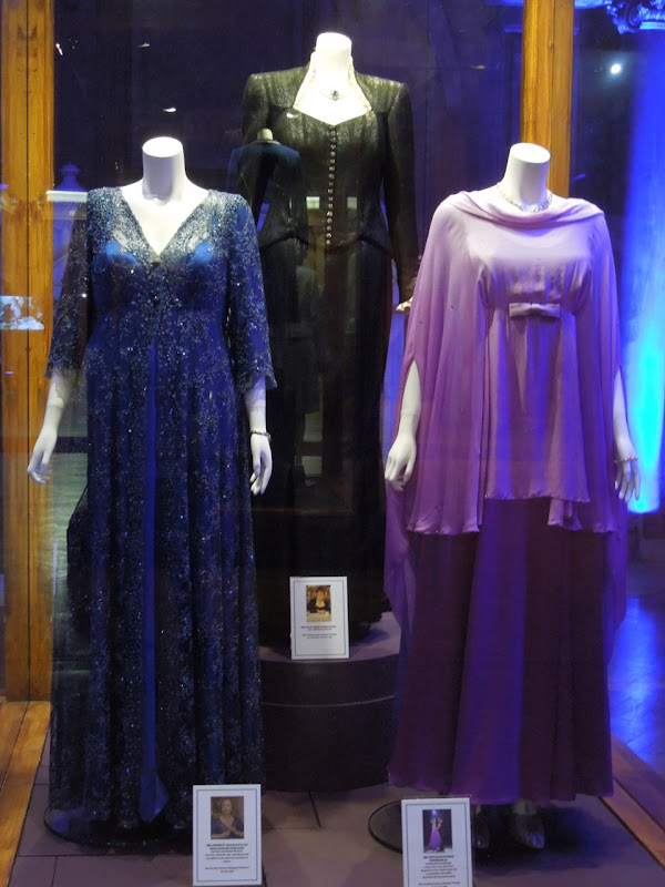 The Iron Lady movie costume exhibit