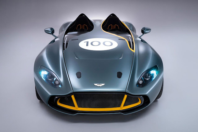 Aston Martin's radical CC100 Speedster Concept front