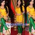Shambavi Sharma in Yellow Silk Salwar kameez