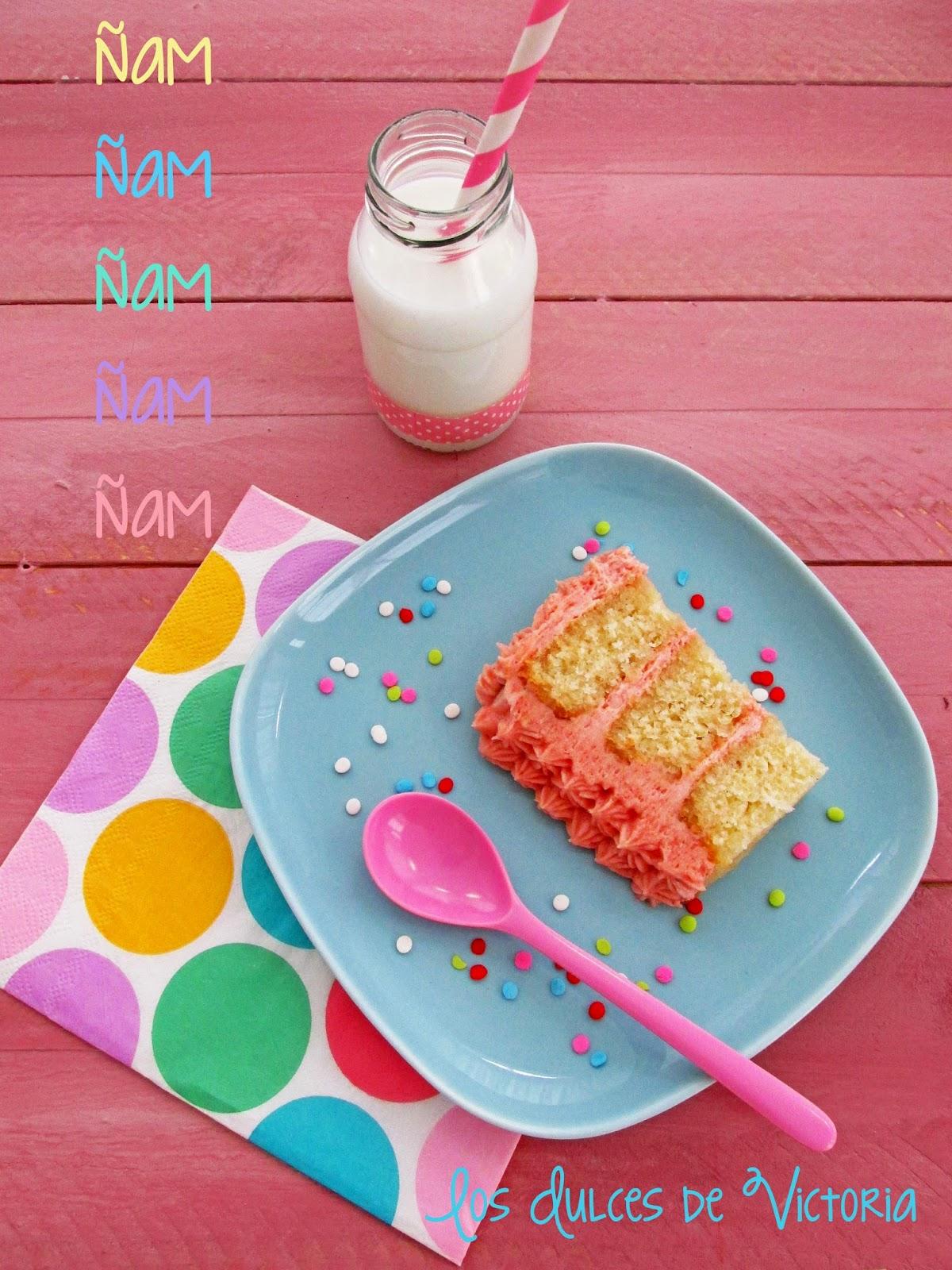 Tarta Deliciosa de Vainilla y Fresa
