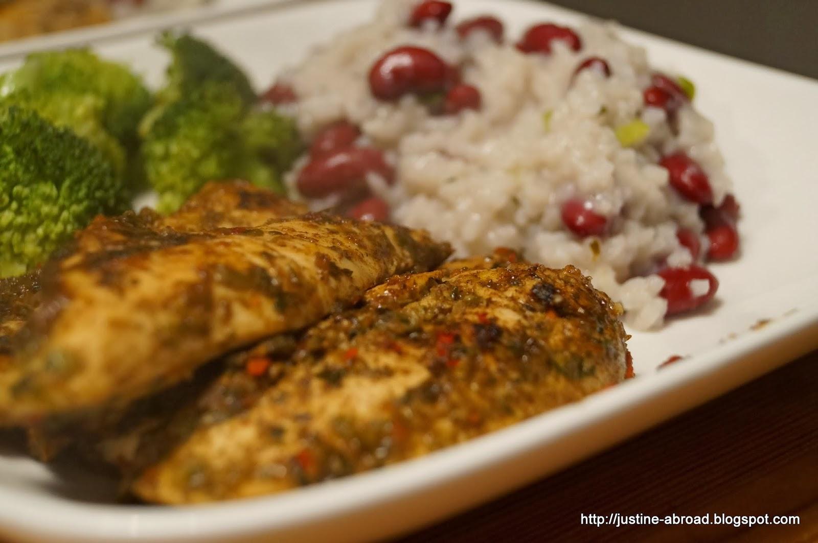 kurczak po jamajsku