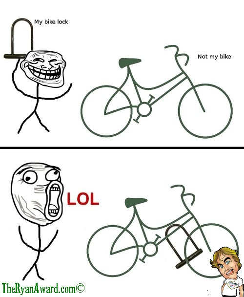 Use your lock on someone elses bike. priceless