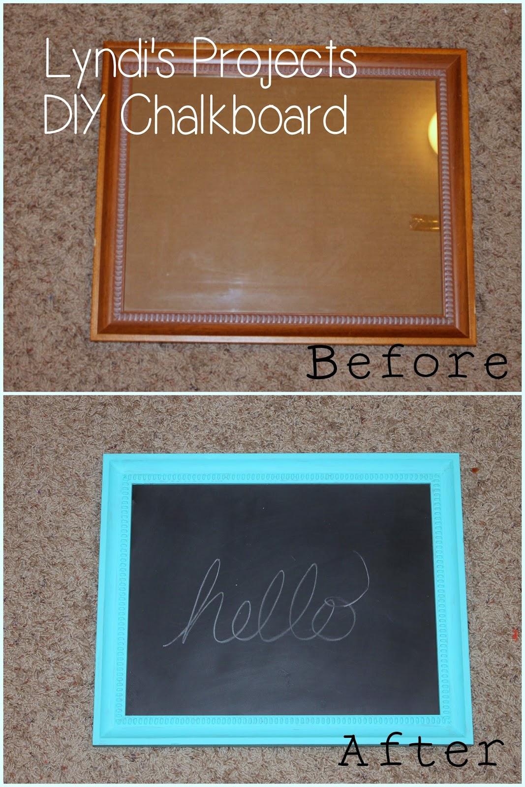 Lyndi 39 S Projects Diy Chalkboard