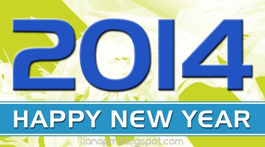 Happy New Year 2014, Poster Selamat Tahun Baru 2014, Header Tahun Baru 2014
