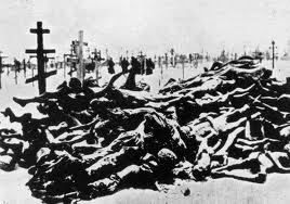 The first state-organized genocides and death camps were not originated by Nazis, but by Bolsheviks