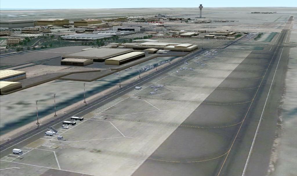 Aeroporto Kuwait : Armi project kuwait international airport okbk fs