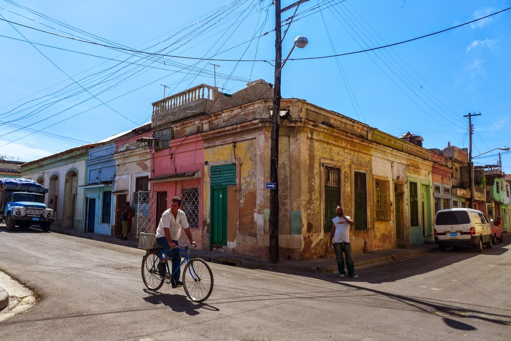 Santiago de Cuba street scene