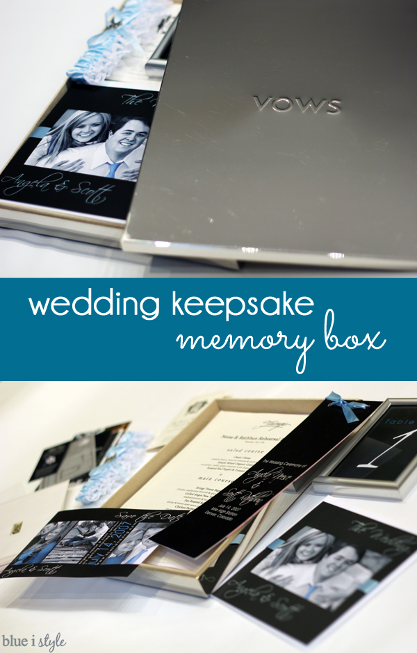 Wedding Keepsake Memory Box