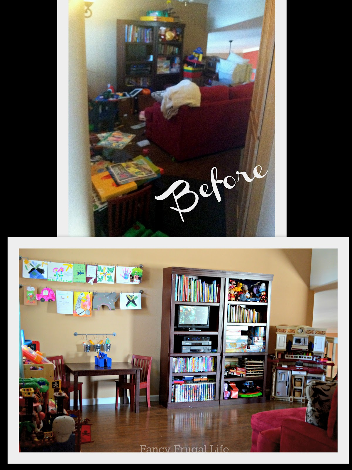 Our New Playroom Tour Organizing the Kid Clutter