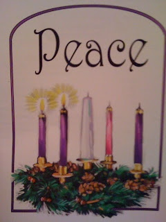 second Sunday of Advent and the first and second candles of the Advent ...