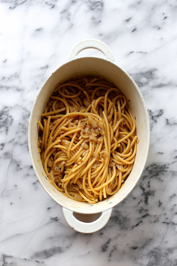 One-pot french onion pasta | Joy the Baker