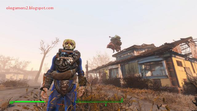 Cara mengatasi blank hitam atau crash pada Fallout 4 dan bahasa rusia