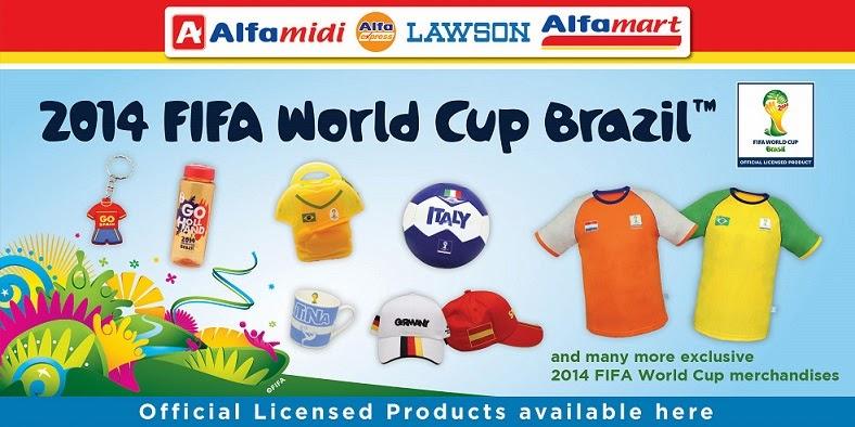 produk lisensi resmi fifa world cup brazil 2014