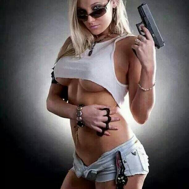 girls with weapons naked