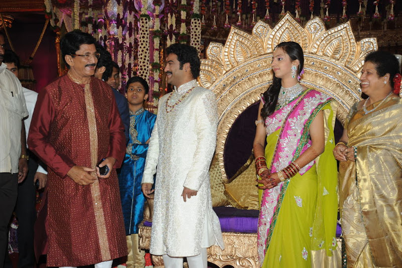 Celebrities  Jr NTR  Pranathi s Marriage movie photos