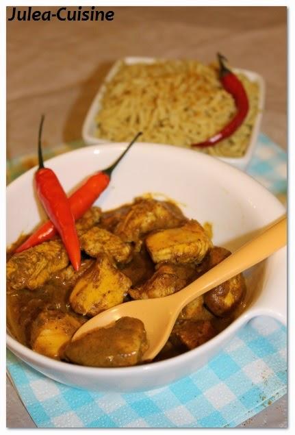 julea cuisine ma cuisine au quotidien poulet 224 la pate de curry et au piment inde