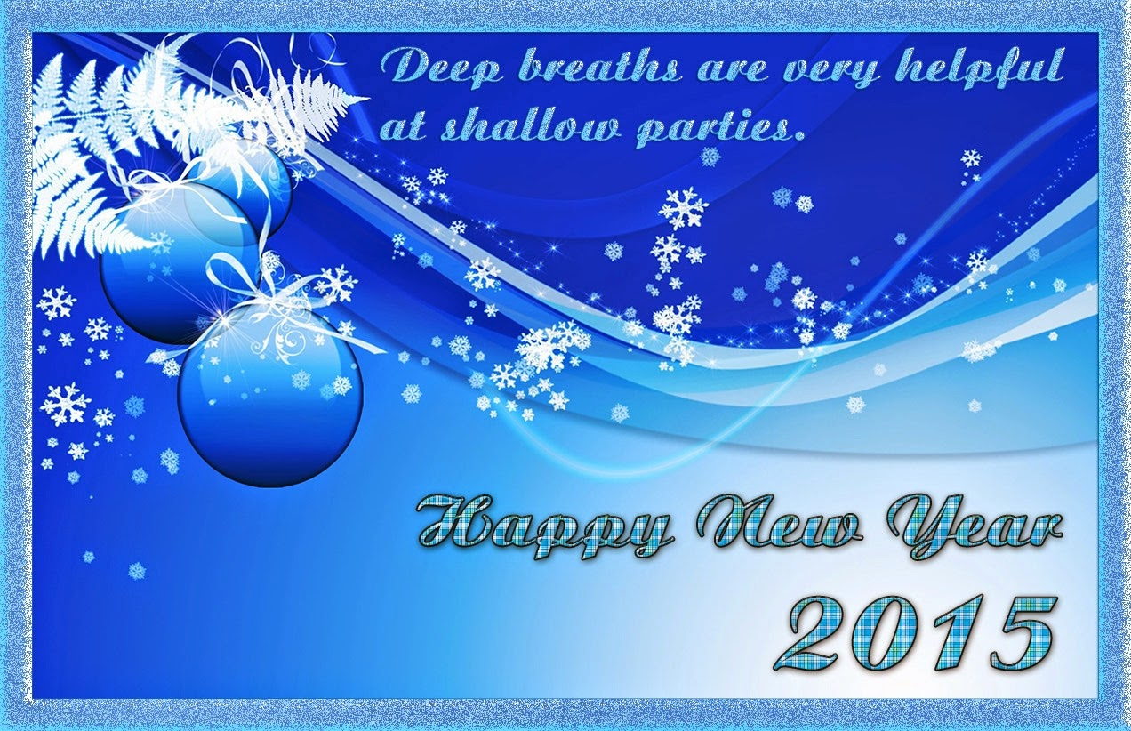 Happy New Year Holiday Greetings Cards 2015